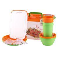 Набор посуды для пикника (32 предмета)