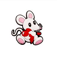 "Магнит на холодильник ""Мышка с сердцем"" (арт. BY83231)"