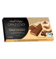 "Шоколад молочный ""Grazioso. Tiramisu"" (100 г)"