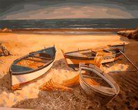 """Картина по номерам """"В поисках рыбаков"""" (400х500 мм)"""