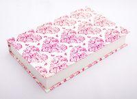 """Подарочная коробка """"Hearts and Butterflies"""" (18х23,5х3,5 см; розовые элементы)"""