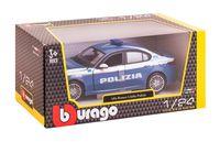 "Модель машины ""Bburago. Alfa Romeo Giulia Polizia"" (масштаб: 1/24)"