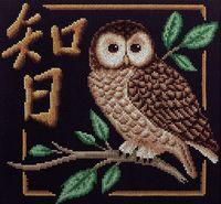 """Вышивка крестом """"Мудрость"""" (260х245 мм)"""