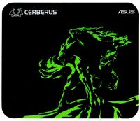 Коврик для мыши Asus Cerberus Mat Mini (черный/зеленый)