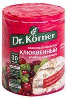 "Хлебцы мультизлаковые ""Dr. Korner"" (100 г; клюква)"