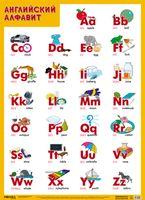 Развивающие плакаты. Английский алфавит