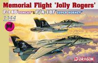 """Набор самолетов """"F-14B Tomcat & F/A-18F Super Hornet"""" (масштаб: 1/144)"""