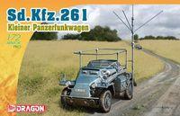 "Легкий бронеавтомобиль ""Sd.Kfz.261 Kleine Panzerfunkwagen"" (масштаб: 1/72)"