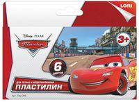 "Пластилин ""Disney. Тачки"" (6 цветов)"