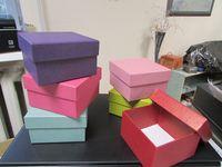 """Подарочная коробка """"Квадрат"""" (6х10х10 см, красная)"""