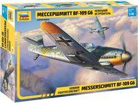 Немецкий истребитель Мессершмитт BF-109 G6 (масштаб: 1/48)