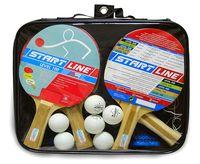 """Набор для настольного тенниса """"Level 100"""" (4 ракетки+6 мячей+сумка; арт. 61452)"""