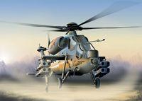 """Ударный вертолет """"A-129 Mangusta"""" (масштаб: 1/72)"""