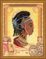 """Набор для вышивания """"Африканская принцесса"""" (300х400 мм)"""