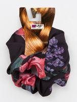 """Набор резинок для волос """"Черный в цветы и черный"""" (2 шт.)"""