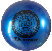 Мяч для художественной гимнастики RGB-101 (15 см; синий)