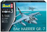"Сборная модель ""Штурмовик BAe Harrier GR. 7"" (масштаб: 1/144)"