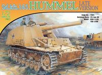"Самоходная гаубица ""Sd.Kfz.165 Hummel Late Production"" (масштаб: 1/72)"