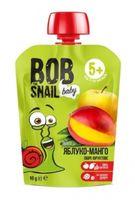 """Пюре детское """"Bob Snail. Яблоко-Манго"""" (90 г)"""