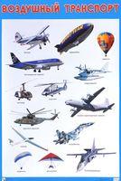 Воздушный транспорт. Плакат