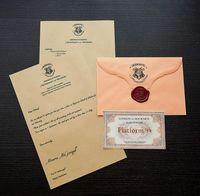 """Сувенирный набор """"Письмо из Хогвартса"""""""