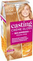 """Краска-уход для волос """"Casting Creme Gloss"""" (тон: 8304, карамельный капучино)"""