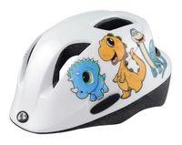 """Шлем велосипедный """"Qorm Dino"""" (белый, р. 48-54)"""