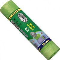 Пакеты для мусора с затяжками (10 шт.; 60 л)