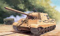 """САУ """"Jagdtiger Sd.Kfz.186"""" (масштаб: 1/72)"""