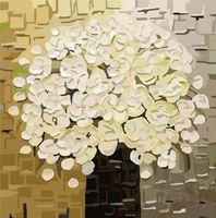 """Картина по номерам """"Белый букет"""" (400х400 мм)"""