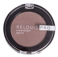 "Тени для век ""Relouis Pro Eyeshadow Matte"" (тон: 13, iced coffee)"