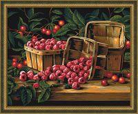 "Картина по номерам ""Урожай малины"" (400х500 мм)"