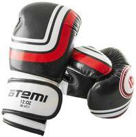 Перчатки боксёрские LTB-16111 (S/M; чёрные; 12 унций)