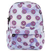 """Рюкзак """"Розовые пончики"""" (10 л; фиолетовый)"""