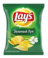 """Чипсы картофельные """"Lay's. Зеленый лук"""" (150 г)"""