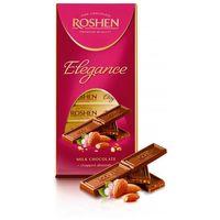 """Шоколад молочный """"Roshen Elegance"""" (100 г; с дробленым миндалем)"""