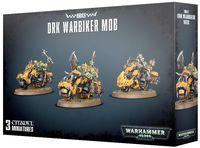 Warhammer 40.000. Orks. Ork Warbiker Mob (50-07)
