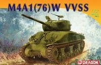 """Средний танк """"M4A1(76)W VVSS"""" (масштаб: 1/72)"""