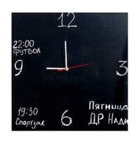 Часы Меловые (40х40 см)