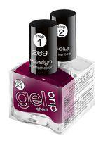 """Набор лаков для ногтей """"Gel Effect Duo"""" (тон: 269)"""