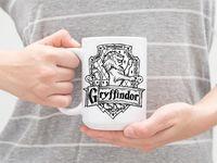 "Кружка ""Гарри Поттер. Гриффиндор"" (арт. 695)"
