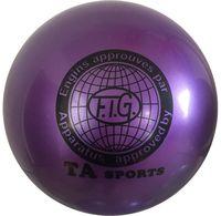 Мяч для художественной гимнастики RGB-101 (15 см; фиолетовый)