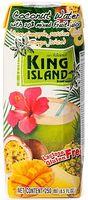 "Вода кокосовая ""King Island. Ананас, манго, маракуйя"" (250 мл)"