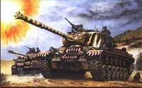 """Средний танк """"M-46 Patton"""" (масштаб: 1/35)"""