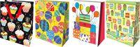 Пакет бумажный подарочный (в ассортименте; 33х43х10 см; арт. ED16-BRTH1-PB-3343-GLOS)