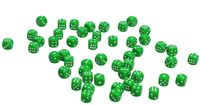 Кубик D6 (зелёный; арт. zar-green)