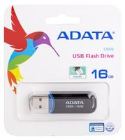 USB Flash Drive 16Gb A-Data Classic C906 (Black)