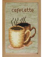 """Вышивка крестом """"Кофе"""" (170х120 мм)"""