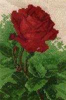 """Вышивка крестом """"Роза"""" (110x170 мм)"""