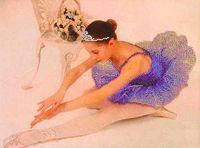 """Вышивка бисером """"Балерина"""" (385х290 мм)"""